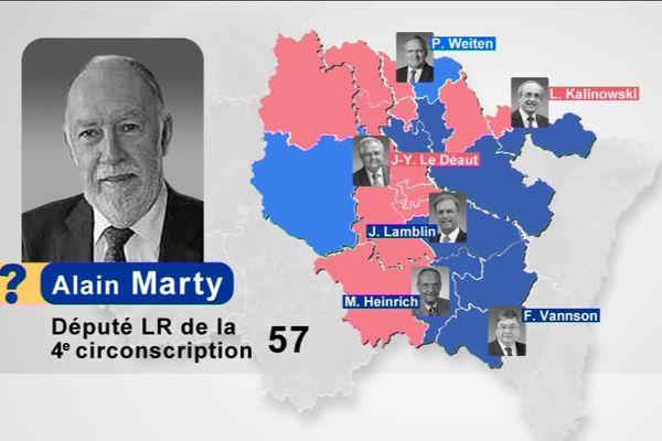 Alain Marty, député-maire de Sarrebourg (Moselle), doit lui aussi choisir. Lequel de ces deux mandats conservera-t-il ?