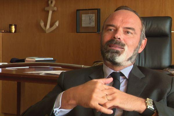 """Edouard Philippe s'est dit """"très heureux"""" de pouvoir apporter son aide au conseil d'administration d'Atos, après sa nomination en tant qu'administrateur indépendant."""