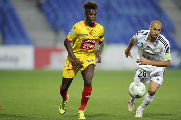 Nicolas Pépé (ici face à Amiens le 5 septembre), entré en cours de match pour Orléans contre Sedan, a trouvé la transversale juste avant le but de Greg Houla.