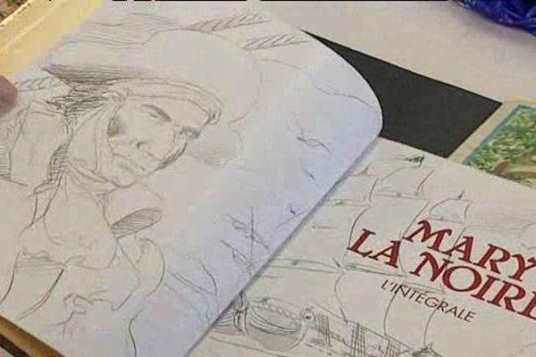 Lors de la 22ème édition de BD Lire à Ligugé, dimanche 26 mars 2017.