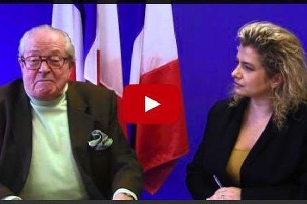 L'intervieweuse désignée de JM Le Pen sur le site du Front National