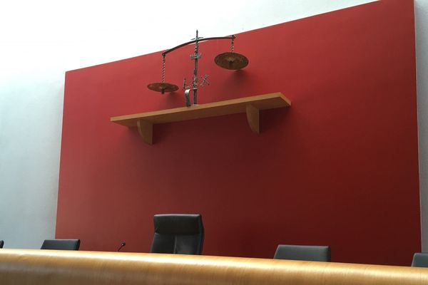 Le tribunal de grande instance d'Albertville était vide ce jeudi. Toutes les audiences ont été renvoyées à une date ultérieure.