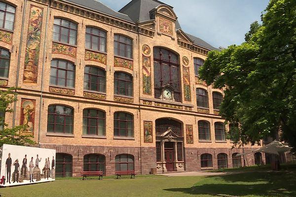 La Haute école des arts du Rhin à Strasbourg a été fermée, pour cause de présence du variant delta.