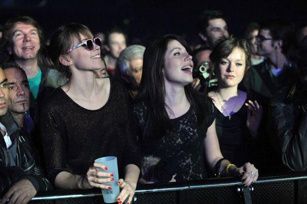 Le public du Liberté lors de l'édition 2011 des Transmusicales de Rennes