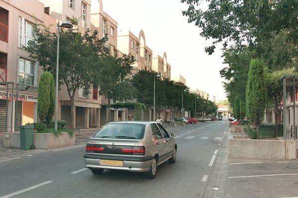 Le quartier de la Frescoule, à Vitrolles (photographie de 1997).