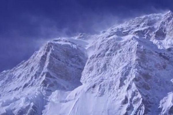 Une partie du parcours sur la face Sud de l'Annapurna