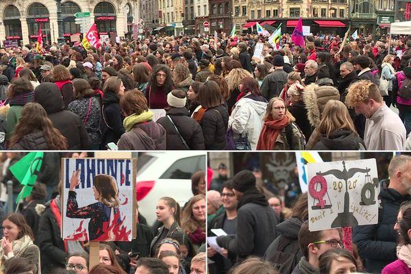 Les femmes ont marché dans plusieurs villes de France contre les inégalités le 7 mars.