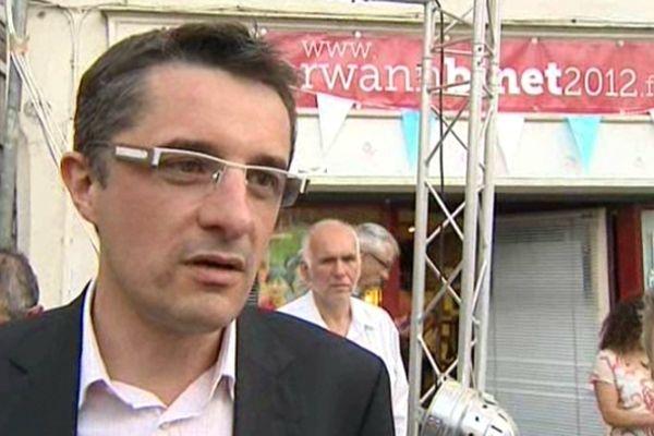 Erwann Binet, député de l'Isère