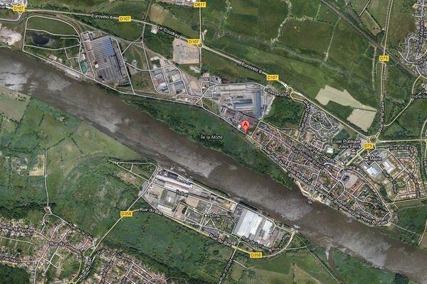 Arcelor est aussi implanté en bord de Loire à Indre dans la communauté urbaine de Nantes