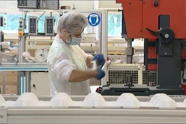 L'usine de masques à Plaintel renaîtra-t-elle ? Les acteurs économiques et politiques de la région travaillent sur un projet de relance