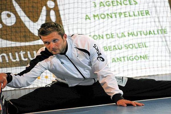 Mickaël Robin - gardien du MAHB - 2013.