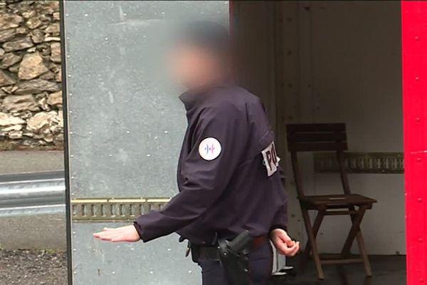 Les policiers de la PAF ont fait grève ce mercredi 27 décembre.