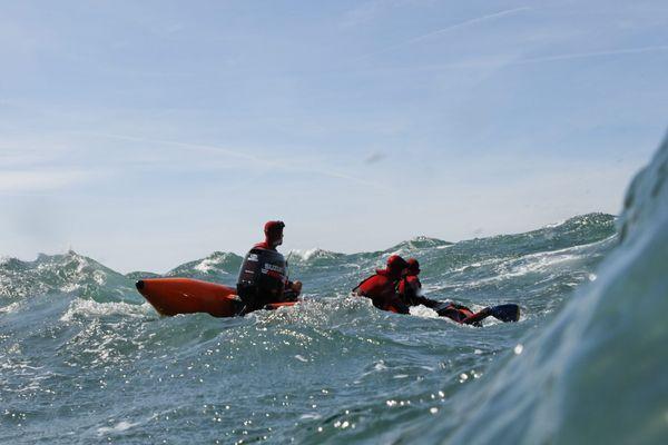 Les marins-pompiers interviennent régulièrement pour secourir des personnes en mer.