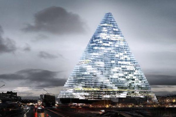 La tour triangle en projet dans le 15 ème