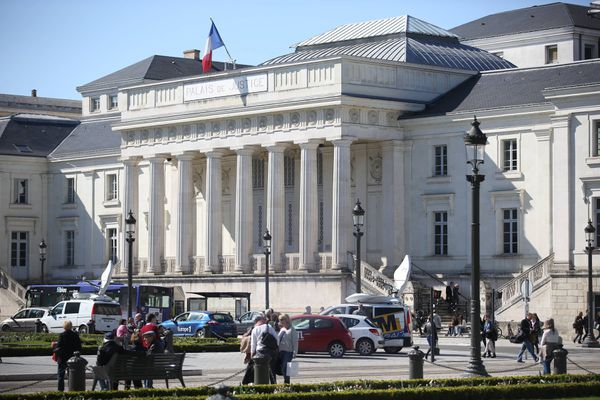 Le palais de Justice de Tours, où a été jugé Vincent Tison.