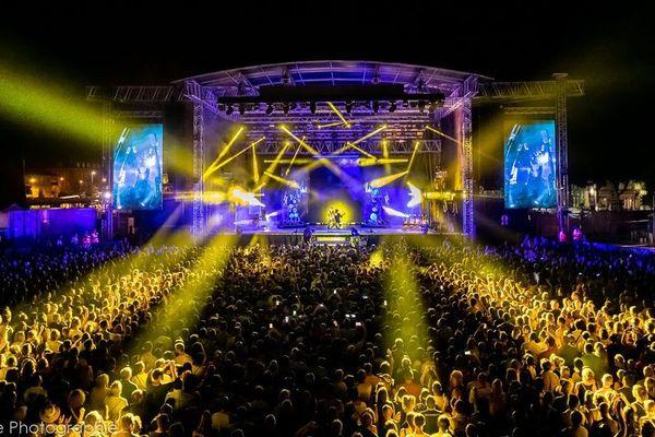La grande scène du Brive Festival.