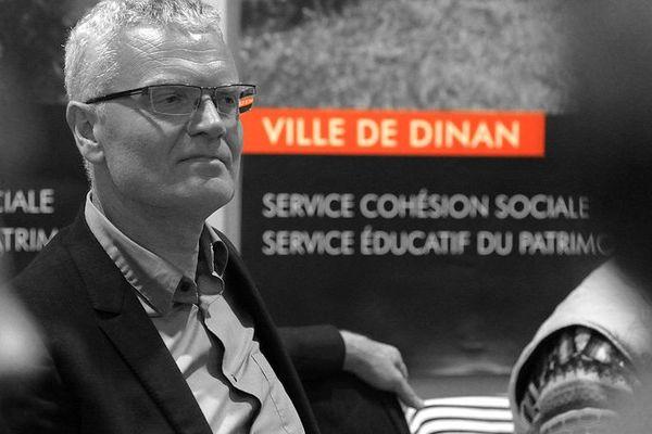 Didier Lechien (UDI) élu maire de Dinan aux municipales 2014.