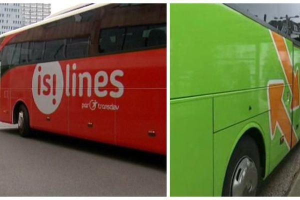 Les lignes d'autocars Isilines et Flixbus opèrent en Bourgogne Franche-Comté.