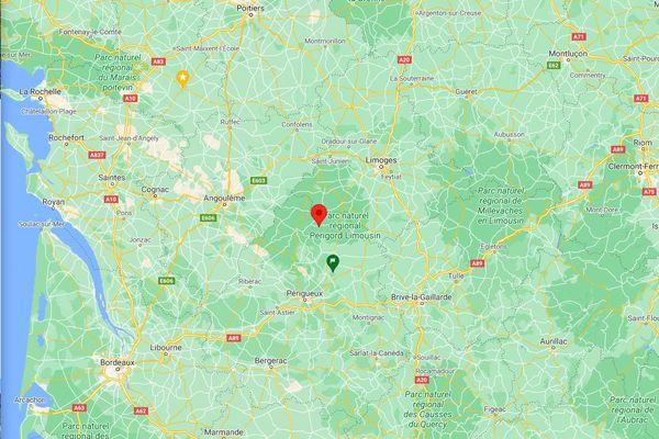 Saint-Saud Lacoussière, au cœur du triangle Périgueux, Angoulême, Limoges, paradis de tranquillité verte, où les activités ne manquent pas pour l'été