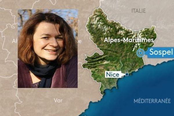 Anne-Laure Apicella 48 ans, dont la voiture a été retrouvée à la gare de Sospel.