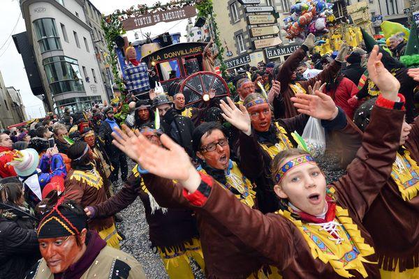 Au carnaval de Granville, l'an dernier (Archives).