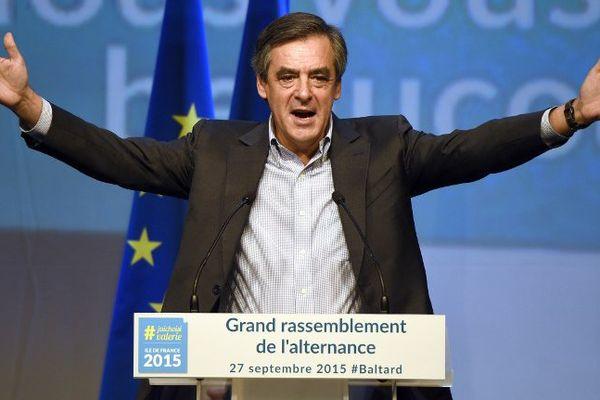 François Fillon, ici le 27 septembre 2015