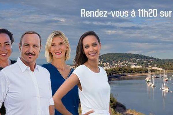 Vincent Fermiot et ses chroniqueuses, vous retrouvent à 11h20 sur l'antenne de France 3