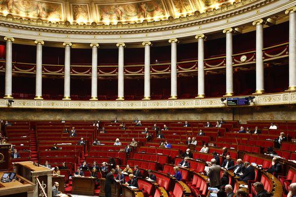 Le 23 février 2020, lors des débats sur la réforme des retraites.