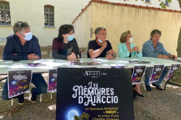 """La première édition des """"Mémoires d'Ajaccio"""" prendra place du 22 juin au 30 septembre prochain."""