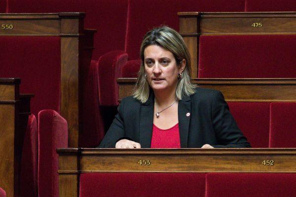 Perrine Goulet à l'Assembée nationale, le 30 janvier 2018.