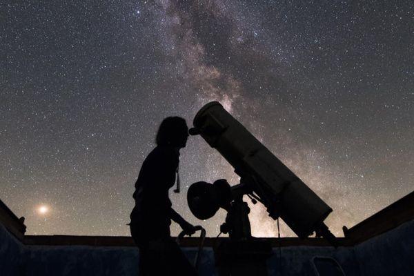 L'observatoire d'Olivier Sauzereau à La Chapelle-aux-Lys, en Vendée