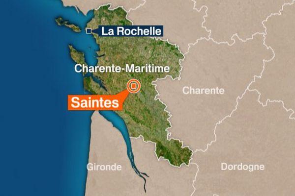 A Saintes, deux jeunes femmes ont été évacuées vers le centre hospitalier après l'incendie de leur caravane.