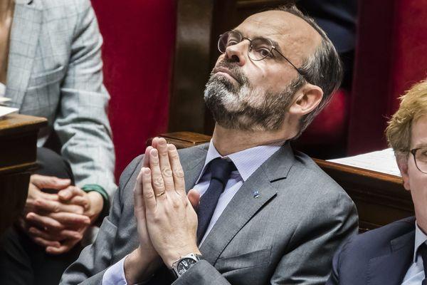 Edouard Philippe à l'Assemblée nationale le 25 février 2020