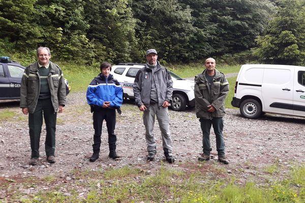 Des patrouilles sont organisées en lien avec l'ONF, la police et la gendarmerie pour prévenir les mauvais comportements dans le massif des Voirons.