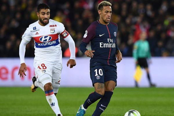 Nabil Fékir, le meilleur joueur croisé par Neymar en Ligue 1.