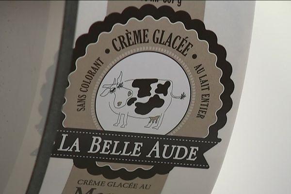Les glaces artisanales La Belle Aude sont produites avec des matières premières françaises par des salariés coopérateurs à Carcassonne