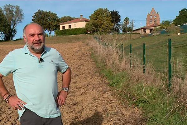 Jean-François Lamassé est agriculteur à Sabonnères (31).