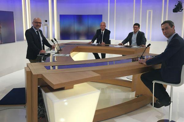 Le débat a réuni Bernard Caël, Eric Defranould et Stessy Speissmann sur le plateau de France 3 Lorraine.