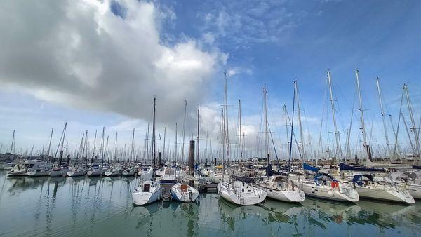 Le port de La Rochelle.