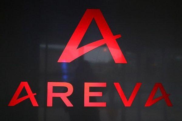 Le logo d'Areva, géant du nucléaire français