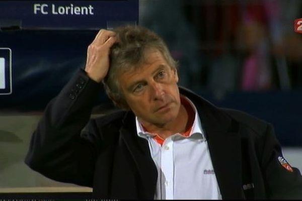 Christian Gourcuff, l'entraineur du FC Lorient