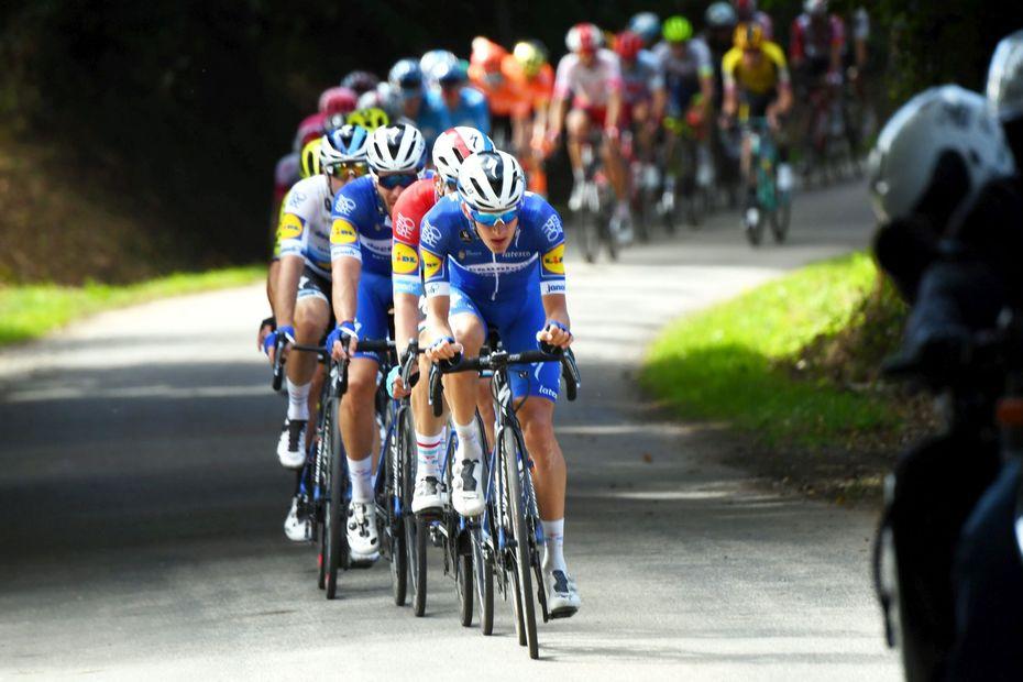 Grand Prix du Morbihan. L'Italienne Chiara Consonni remporte l'épreuve féminine. L'épreuve masculine en cours.