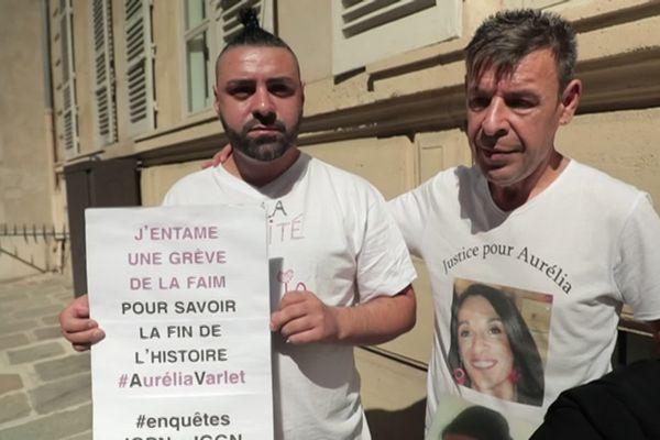 Grève de la faim de Giovanni Varlet à Paris avec le soutien de son père