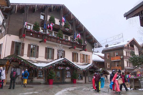 La mairie de la Clusaz