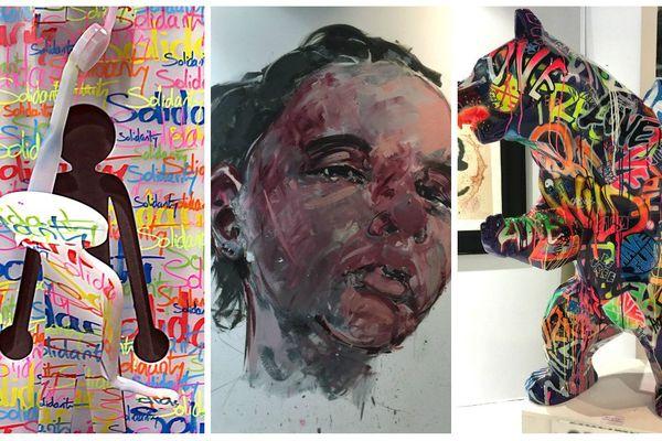 Plus de 200 artistes de tous horizons exposent au salon art3f