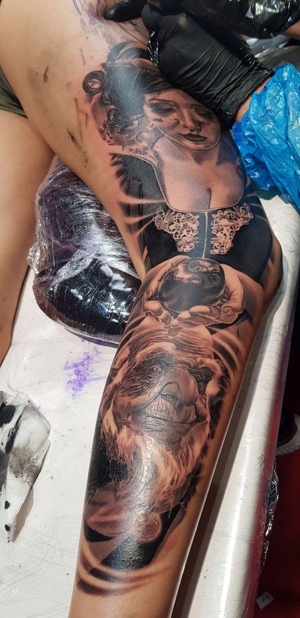 L'art du tatouage à l'honneur à Marseille.