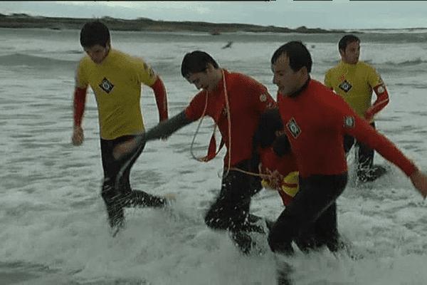 Sauveteurs en mer en stage dans le Finistère Sud