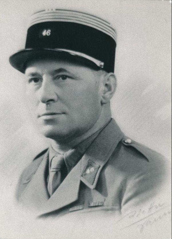 Le commandant Bescond, tué dans l'attaque du 17 mai.
