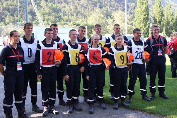 Les jeunes sapeurs-pompiers de la Somme ont terminé la compétition en 18ème position
