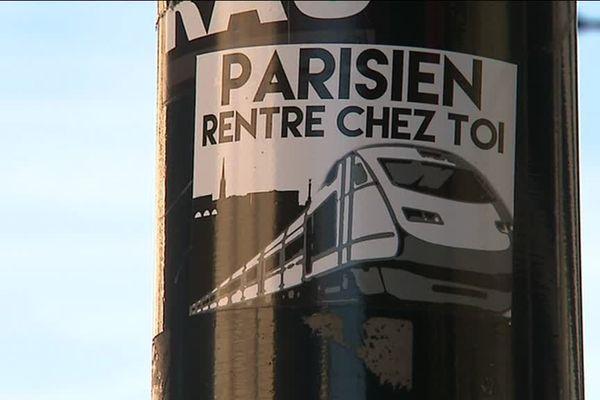 Dans le quartier des Chartrons à Bordeaux ce mercredi matin